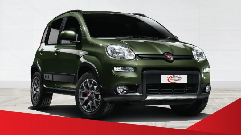 Rent a Fiat Panda 4x4 and visit Catania