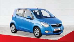 Louez city car Opel Agila