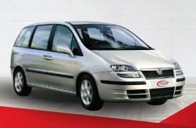 Car Hire Fiat Ulysse