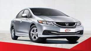 Louer la berline compacte Honda Civic