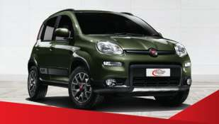 Louez la Fiat Panda 4x4 à Catania